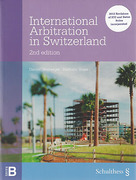 Cover of International Arbitration in Switzerland
