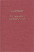 Cover of Principles of German Civil Law