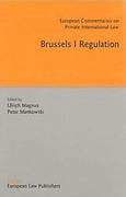 Cover of Brussels I Regulation