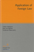 Cover of Application of Foreign Law