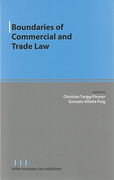 Cover of Boundaries of Commercial and Trade Law