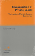 Cover of Compensation of Private Losses: The Evolution of Torts in European Business Law