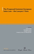 Cover of The Proposed Common European Sales Law: The Lawyers' View