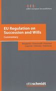 Cover of EU Regulation on Succession and Wills: Commentary