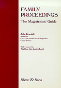 Cover of Family Proceedings: The Magistrates Guide
