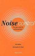 Cover of Noise Control: The Law and its Enforcement
