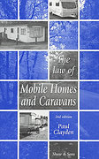 Cover of The Law of Mobile Homes and Caravans