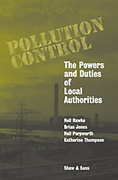 Cover of Pollution Control: The Powers and Duties of Local Authorities