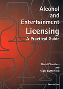 Cover of Alcohol and Entertainment Licensing: A Practical Guide