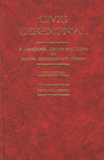 Cover of Civic Ceremonial: A Handbook, History and Guide for Mayors, Councillors and Officers