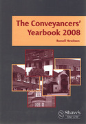Cover of The Conveyancers' Yearbook 2008