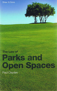 Cover of Law of Parks and Open Spaces