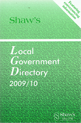 Cover of Shaw's Local Government Directory 2009/10