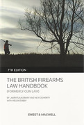 Cover of The British Firearms Law Handbook