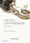 Cover of The Dog Law Handbook