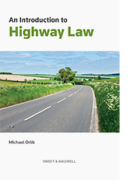 Cover of An Introduction to Highway Law