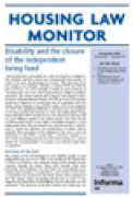 Cover of Housing Law Monitor: Print + PDF