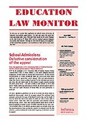 Cover of Education Law Monitor: Print + PDF