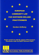 Cover of European Community Law for Northern Ireland Practitioners
