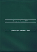 Cover of Inquest Law Reports