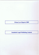 Cover of Prison Law Reports