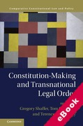Cover of Constitution-Making and Transnational Legal Order (eBook)