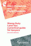 Cover of Stamp Duty Land Tax: A Practical Guide for Lawyers