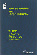 Cover of TUPE: Law and Practice: A Guide to the TUPE Regulations