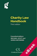 Cover of Charity Law Handbook (eBook)