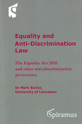 Cover of Equality and Anti-Discrimination Law: The Equality Act 2010 and other anti-discrimination protections