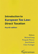 Cover of Introduction to European Tax Law: Direct Taxation