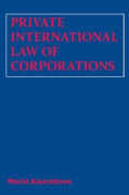 Cover of Private International Law of Corporations