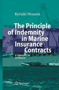 Cover of The Principle of Indemnity in Marine Insurance Contracts: A Comparative Approach