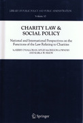 Cover of Charity Law & Social Policy: National and International Perspectives on the Functions of the Law Relating to Charities