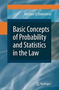 Cover of Basic Concepts of Probability and Statistics in the Law