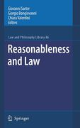 Cover of Reasonableness and Law