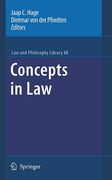 Cover of Concepts in Law