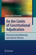 Cover of On the Limits of Constitutional Adjudication: Balancing and Judicial Activism in Deconstruction