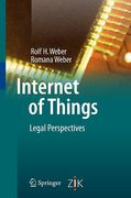 Cover of Internet of Things: Legal Perspectives