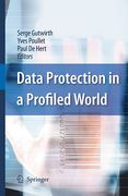 Cover of Data Protection in a Profiled World