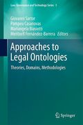 Cover of Approaches to Legal Ontologies