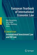 Cover of EYIEL Special Issue: International Investment Law and EU Law