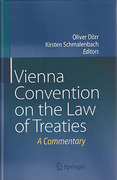 Cover of Vienna Convention on the Law of Treaties: A Commentary