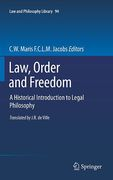 Cover of Law, Order and Freedom: A Historical Introduction to Legal Philosophy