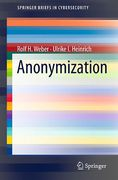 Cover of Anonymization