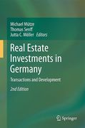 Cover of Real Estate Investments in Germany: Transactions and Development
