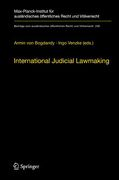 Cover of International Judicial Lawmaking