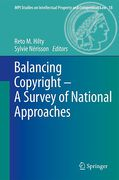 Cover of Balancing of Copyright: A Survey of National Approaches