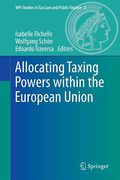 Cover of Allocating Taxing Powers within the European Union