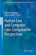 Cover of Human Law and Computer Law: Comparative Perspectives